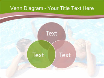 Two girlfriends in a swimming pool PowerPoint Template - Slide 33