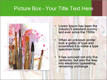 Watercolor palette PowerPoint Template - Slide 13