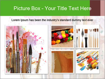 Watercolor palette PowerPoint Template - Slide 19