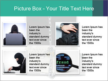 Laptop data PowerPoint Template - Slide 14