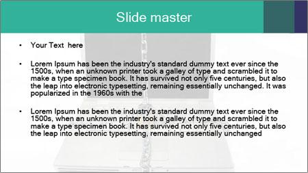 Laptop data PowerPoint Template - Slide 2