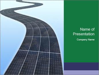 Solar panels PowerPoint Templates - Slide 1