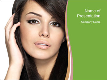 Luxury Girl PowerPoint Template