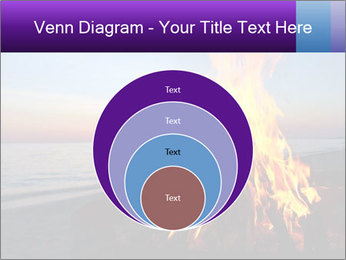 Campfire at sunset PowerPoint Templates - Slide 34