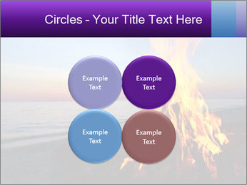 Campfire at sunset PowerPoint Templates - Slide 38