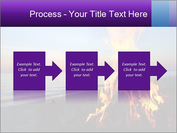 Campfire at sunset PowerPoint Templates - Slide 88