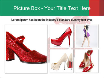 Red Shoes PowerPoint Template - Slide 19