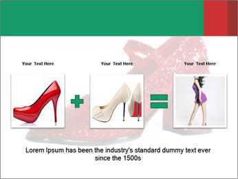 Red Shoes PowerPoint Template - Slide 22