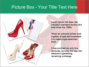 Red Shoes PowerPoint Template - Slide 23