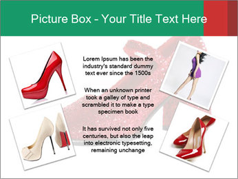 Red Shoes PowerPoint Template - Slide 24