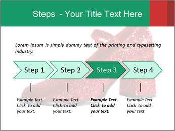 Red Shoes PowerPoint Template - Slide 4