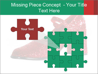 Red Shoes PowerPoint Template - Slide 45
