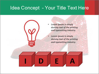 Red Shoes PowerPoint Template - Slide 80