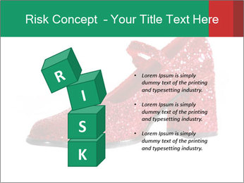 Red Shoes PowerPoint Template - Slide 81