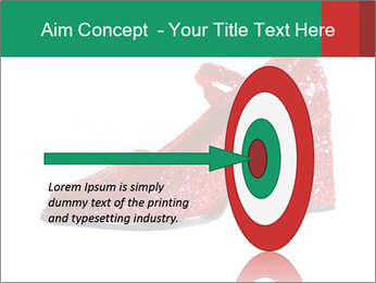 Red Shoes PowerPoint Template - Slide 83