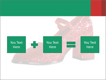 Red Shoes PowerPoint Template - Slide 95