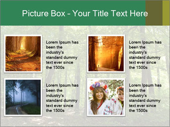 Dense forest PowerPoint Template - Slide 14