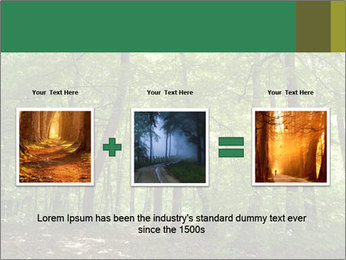 Dense forest PowerPoint Template - Slide 22