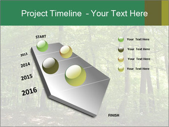 Dense forest PowerPoint Template - Slide 26