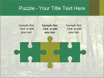 Dense forest PowerPoint Template - Slide 42