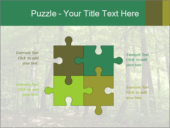Dense forest PowerPoint Template - Slide 43