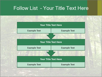 Dense forest PowerPoint Template - Slide 60