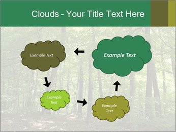 Dense forest PowerPoint Template - Slide 72
