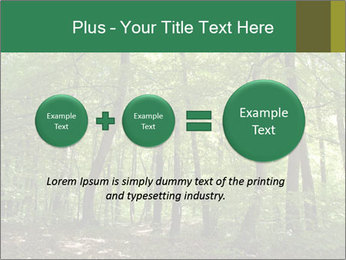 Dense forest PowerPoint Template - Slide 75