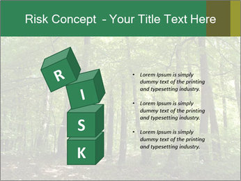 Dense forest PowerPoint Template - Slide 81