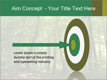 Dense forest PowerPoint Template - Slide 83
