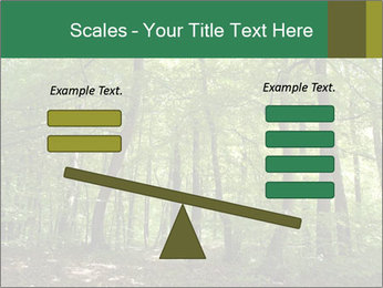 Dense forest PowerPoint Template - Slide 89