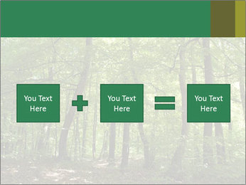 Dense forest PowerPoint Template - Slide 95