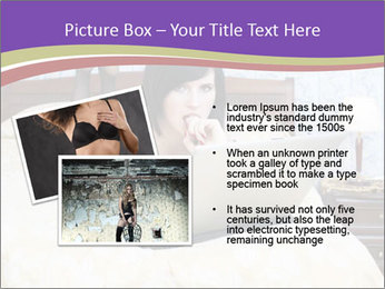 Woman with laptop PowerPoint Templates - Slide 20