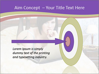 Woman with laptop PowerPoint Templates - Slide 83