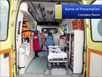 Ambulance PowerPoint Template