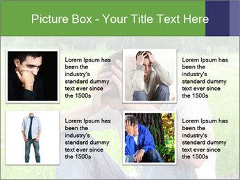 Sad teenager PowerPoint Template - Slide 14