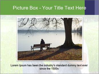 Sad teenager PowerPoint Templates - Slide 16