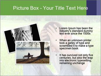 Sad teenager PowerPoint Templates - Slide 20