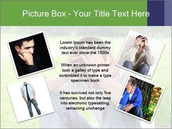 Sad teenager PowerPoint Template - Slide 24