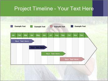 Sad teenager PowerPoint Template - Slide 25