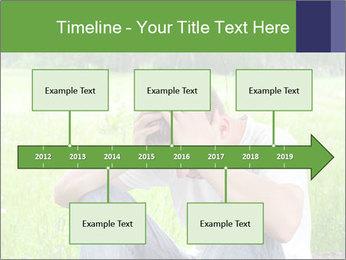 Sad teenager PowerPoint Template - Slide 28