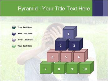 Sad teenager PowerPoint Template - Slide 31