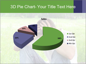 Sad teenager PowerPoint Templates - Slide 35