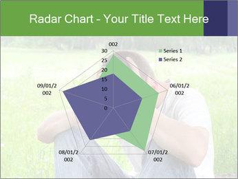 Sad teenager PowerPoint Templates - Slide 51