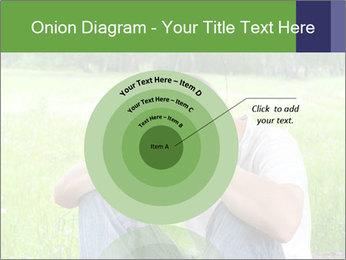 Sad teenager PowerPoint Templates - Slide 61