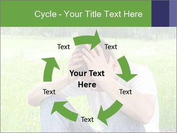 Sad teenager PowerPoint Template - Slide 62
