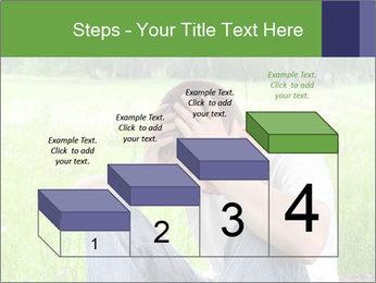 Sad teenager PowerPoint Templates - Slide 64