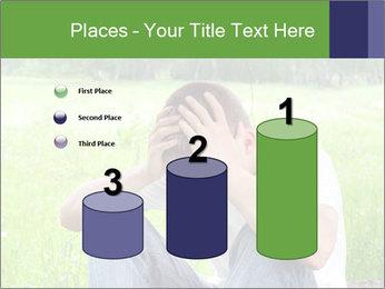 Sad teenager PowerPoint Template - Slide 65