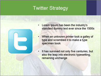 Sad teenager PowerPoint Templates - Slide 9