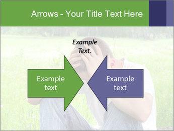 Sad teenager PowerPoint Templates - Slide 90